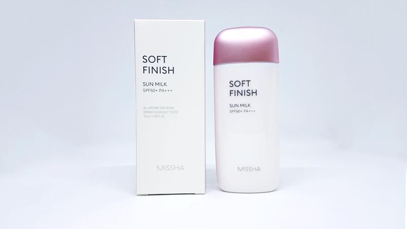 Image result for kem chống nắng missha soft finish