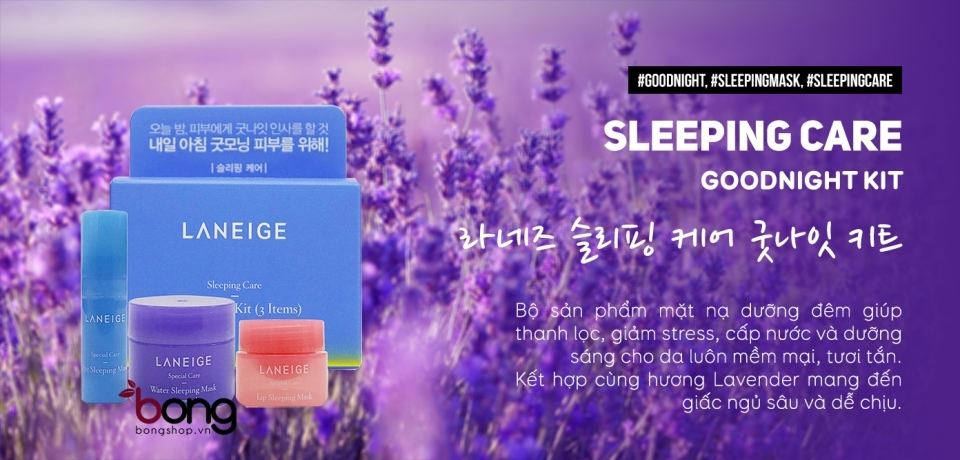 Bộ sản phẩm Laneige Sleeping Care Goodnight Kit