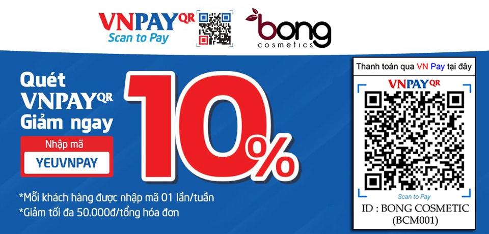 Quét VN Pay giảm ngay 10%