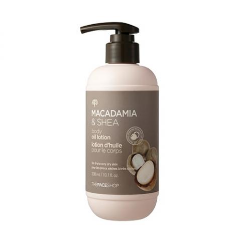 Dưỡng thể Macadamia & Shea The Face Shop