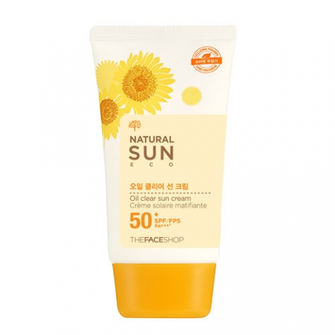 Kem chống nắng Natural Sun Eco Oil Clear Sun Cream SPF50+/PA+++