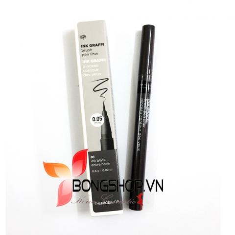 Dạ kẻ mắt Ink Graffi Brush Pen Liner The Face Shop