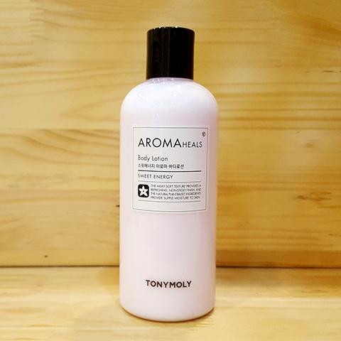 Dưỡng thể Aroma heals Body Lotion Sweet Energy - Tonymoly