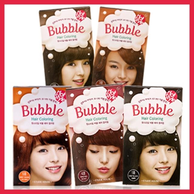 Thuốc nhuộm tóc dạng bọt Bubble hair coloring - Etude