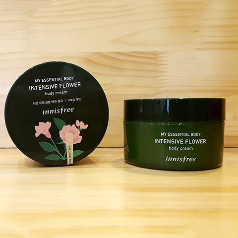 Kem dưỡng ẩm toàn thân Innisfree My Essential Body Intensive Flower Body Cream