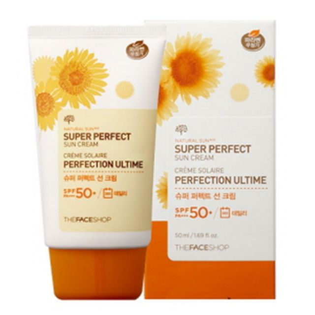 Kem chống nắng Super Perfect Sun Cream SPF 50 PA+++ The Face Shop 2014