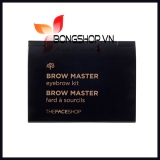 Bột tán mày The Face Shop Brow Master Eyebrow Kit 01 Beige Brown