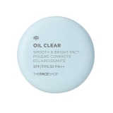 Phấn phủ mịn kiềm dầu Oil Clear Smooth & Bright Pact The Face Shop