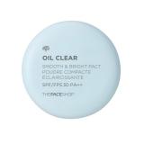 Phấn phủ mịn kiềm dầu Oil Clear Smooth & Bright Pact The Face Shop