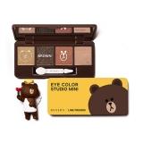 Phấn mắt Missha Eye Color Studio Mini Brown Brownie (Line Friends)