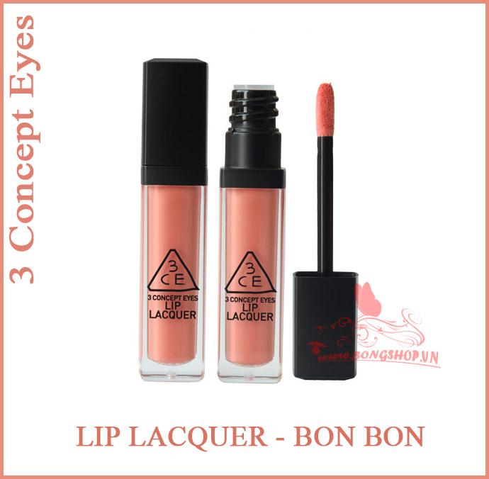 Mỹ Phẩm 3ce Lip Lacquer Bon Bon