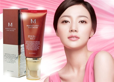 BB cream Missha perfect cover 50ml