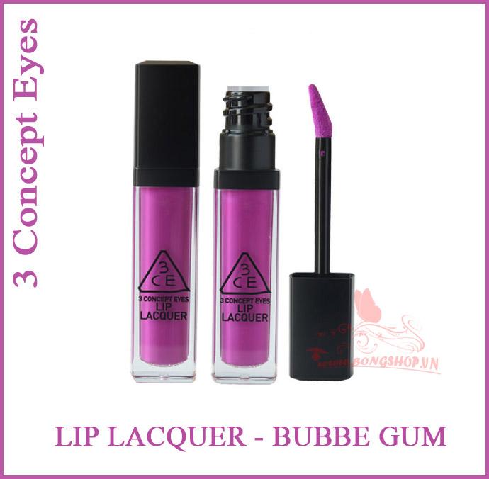 3ce Lip Lacquer Bubbe Gum