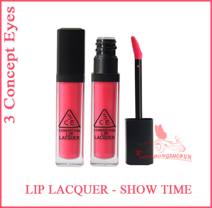 3ce Lip Lacquer Show Time
