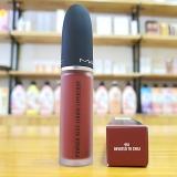 Son Kem Mac Powder Kiss Liquid Lipcolour Màu 991 Devoted To Chili –  Đỏ Gạch