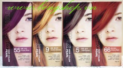 Thuốc nhuộm tóc Fruits Wax Hair Color