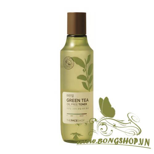 Nước hoa hồng Green tea oil free Toner