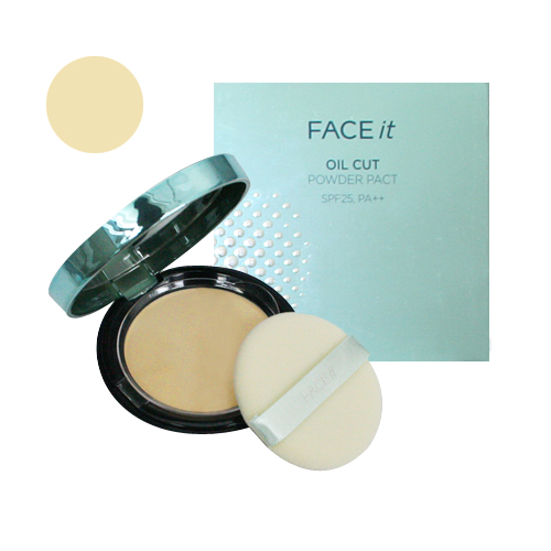 Phấn Face It Oil Cut - The Face Shop