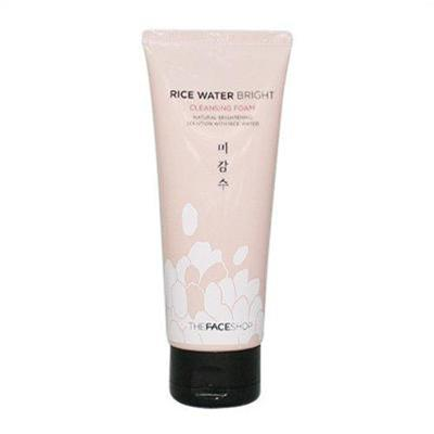 Sữa rửa mặt gạo Rice water bright - The Face Shop