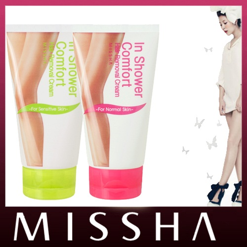 Kem tẩy lông missha n Shower Comfort Hair Removal Cream
