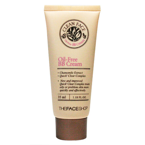 BB Cream Clean face Oil control - The Face Shop