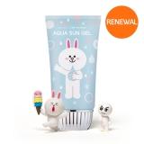 Kem chống nắng Missha All-around Safe Block Aqua Sun Gel (Line Friends)