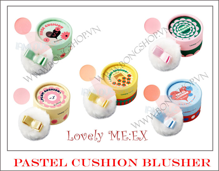 Phấn má lovely me:ex pastel cushion blusher