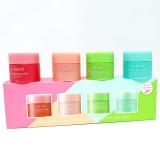 Set mặt nạ ngủ môi Lip sleeping mask mini kit (4 scented collections)