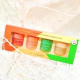 Set mặt nạ ngủ môi 4 hũ - Lip sleeping mask mini kit (4 scented collections)