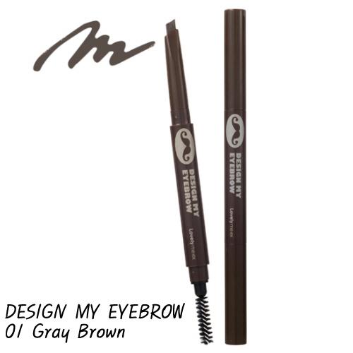 Chì kẻ lông mày 2 đầu lovely me:ex Design My EyeBrow