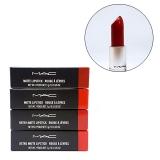 Son MAC retro matte lipstick rouge à lèvres 707 ruby woo