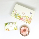 Set phấn nước Ohui Ultimate cover cushion special edition (Flower Garden)