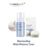 Nước hoa hồng Blanclouding White Moisture Toner (Tặng 1 hộp bông tẩy trang)