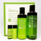 Bộ Dưỡng Da Chống Lão Hoá Tonymoly The Chok Chok Green Tea watery skin care set