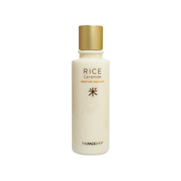 Sữa dưỡng tinh chất gạo - Rice Ceramide moisture emulsion - The Face Shop