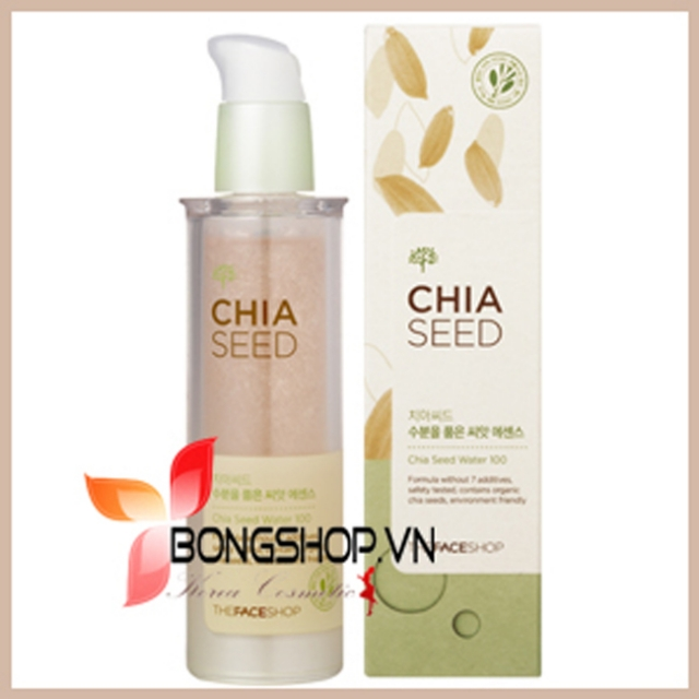 Chia Seed Moisture-holding Seed Essence - Tinh chất chia seed