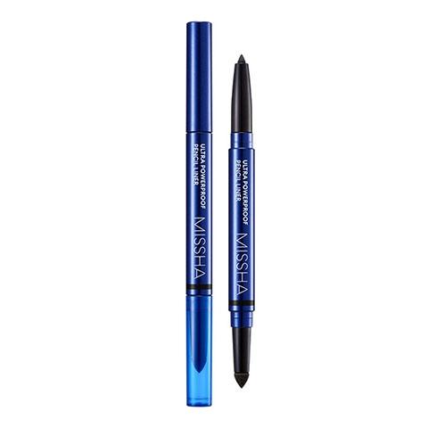 Chì kẻ mắt không trôi Missha Ultra power proof pencil liner