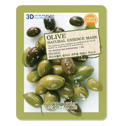 3D foodaholic olive